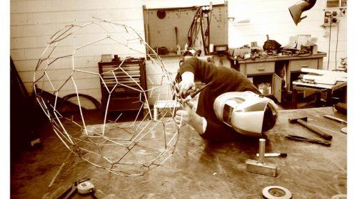 Roberto's last touch - Paolo Rudelli Voronoi Cage