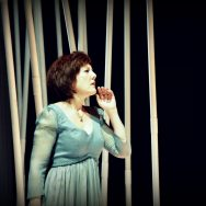The Magic Flute rehearsal: Pamina(Brigitte Fournier)