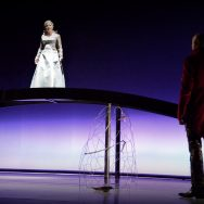 The Magic Flute rehearsal - Tamino (Gilles Bersier) and The Queen of the Night(Charlotte Müller Perrier)