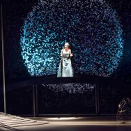 Photo by O.Vocat - Scenography, Video and Lighting Design By Paolo Rudelli - Die Zauberflöte - Opéra du Rhône 2013