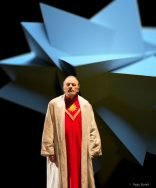 Photo by O.Vocat - Scenography, Video and Lighting Design By Paolo Rudelli - Die Zauberflöte - Opéra du Rhône 2013