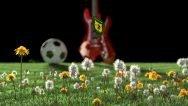 New Blender video commercial - Plettro, ball, grass and guitar using Blender